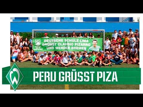 Deutsche Schule Lima grüßt Claudio Pizarro