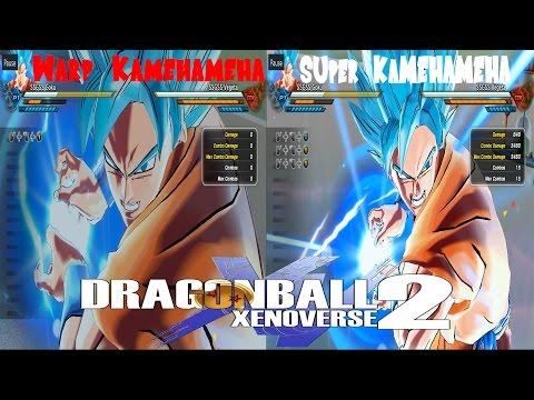 Warp Kamehameha VS Super Kamehameha Dragon Ball Xenoverse 2
