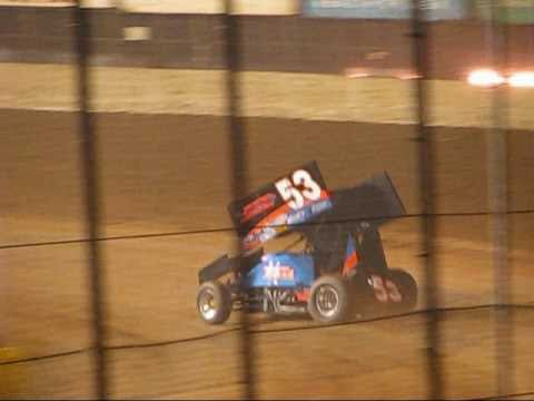 Jack Dover Wheel Stand Lake Ozark Speedway 9-6-09