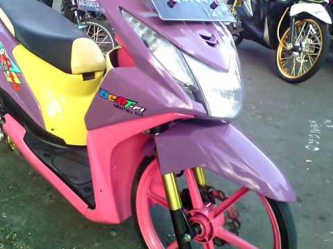 Modifikasi Honda Beat Pgm Fi Modifikasi Motor Beat Thailook