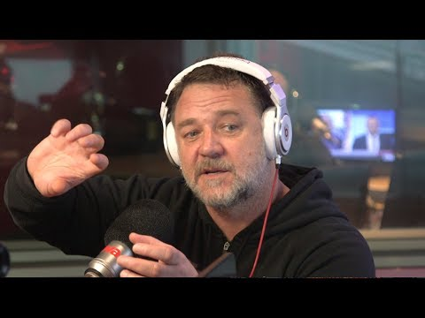 Russell Crowe teaches Ed sheeran hangover trick