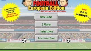 Sports Heads Football Championship: European Edition
