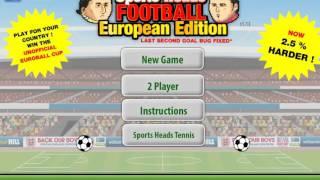 Sports Heads Football Championship: European Edition