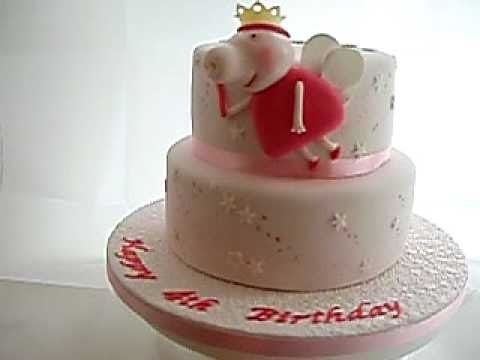 How To Make Princess Peppa Pig Cake