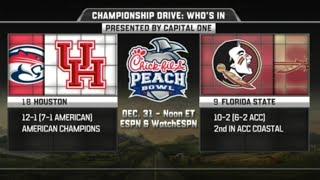 Houston vs Florida State in Peach Bowl 2016