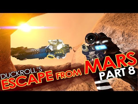 Space Engineers - ESCAPE FROM MARS #8 - (Hardcore' Roleplay Mission/Scenario)