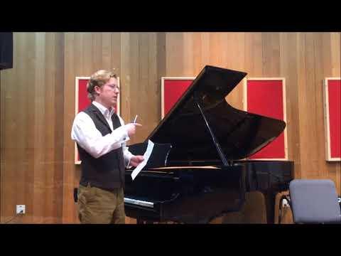 Idyllwild Arts Academy Lecture/Recital