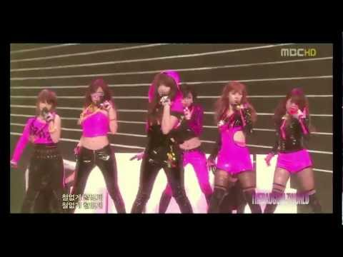 [HD/LIVE] T-ara - I Go Crazy Because Of You [ Mix ]