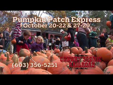 """2017 Conway Scenic Railroad """"Pumpkin Patch Express"""""""