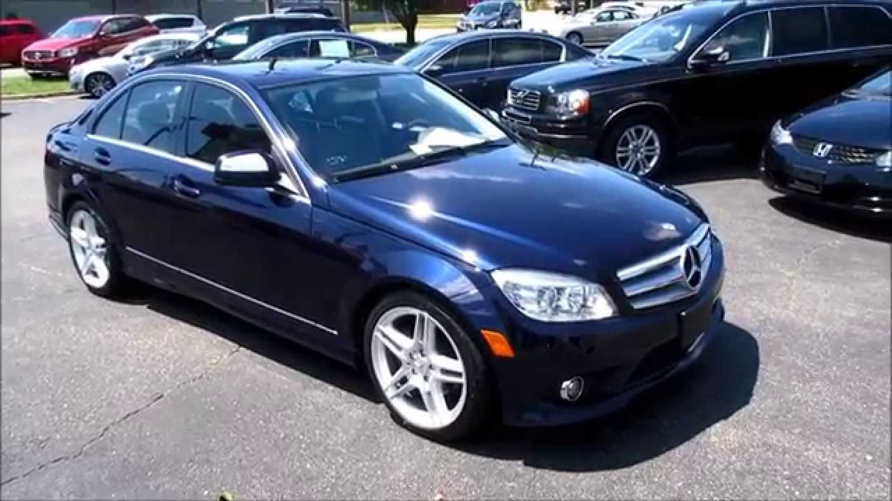 2009 Mercedes Benz C300 Sport Walkaround Start Up Tour