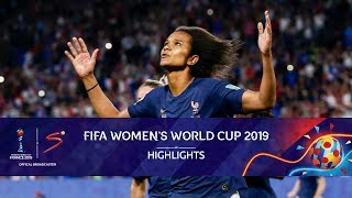 FIFA Women's World Cup | Nigeria vs France | Highlights