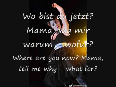 LaFee - Mama (Wo Bist Du)/Mama (Where Are You) English translation