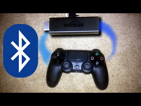 How to Pair PS4 Controller with Amazon Fire TV Stick (PoC) (no root)