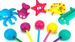 Пластилин для детей, учимся лепить животных