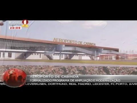 Modernização do Aeroporto de Cabinda
