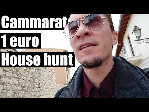Cammarata 1 euro home hunt | Self guided tour | On location