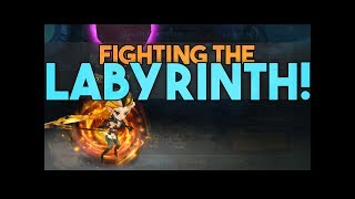 LABYRINTH FIGHTS! New Guild Content in Summoners War
