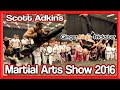 Scott (Boyka) Adkins & GNT Seminar | UK Martial Arts Show 2016 | Taekwondo Kicks & Flips