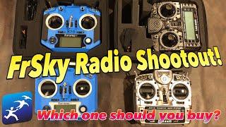 Which Taranis Radio is best?  FrSky Taranis Shootout!  QX7S vs X9D SE