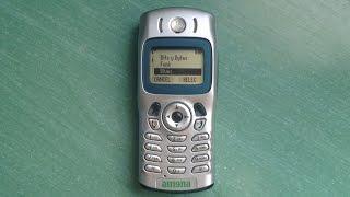 Motorola C336 retro review (old ringtones, images, and games)