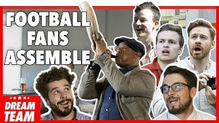 FOOTBALL FANS ASSEMBLE FOR THE WORLD CUP | With Ian Wright