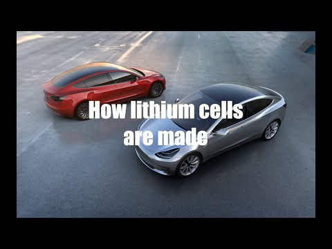 How Lithium cells are made