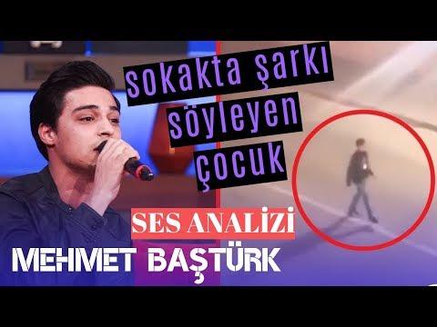 Sokakta Şarkı Söyleyen Çocuk Ses Analizi (Mehmet Baştürk)