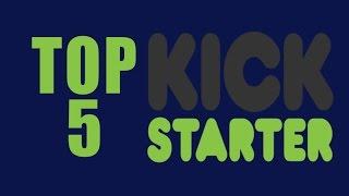 ¡Las 5 campañas mas exitosas! | Kickstarter