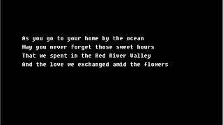 Slim Whitman - Red River Valley w/ lyrics
