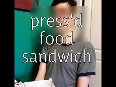 Press'd Alberta Sandwich food review