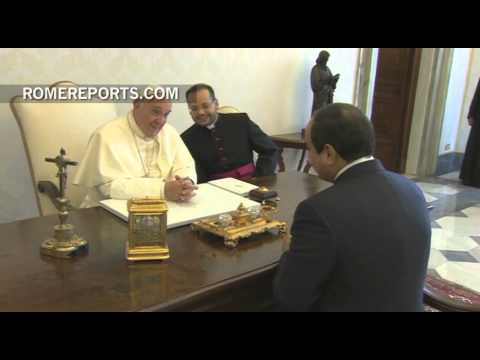 Pope to Egypt's President: Dialogue is key to stop violence in the Middle East