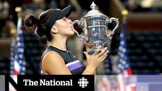 Bianca Andreescu reflects on historic U.S. Open victory
