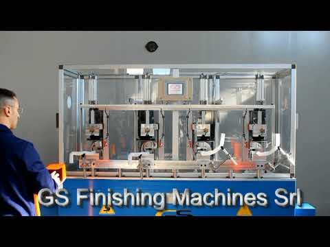 Customized machine for cutting round ends - GS Finishing Machines Srl