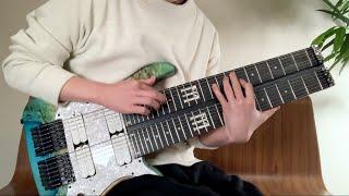 Double Neck 14 string guitar solo