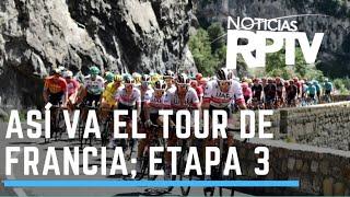 Caleb Ewan gana en el sprint y se queda con la etapa 3 del Tour de Francia | Noticias RPTV