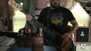 Branthrax Bass Cover - Clutch - Pulaski Skyway