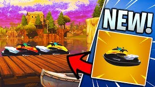 *NEW* JET SKIS COMING TO FORTNITE BATTLE ROYALE! (Jet Skis at Loot Lake Update)