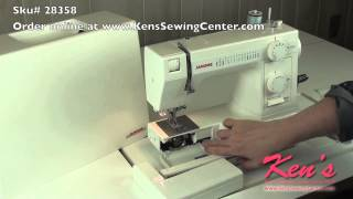 Janome HD-1000 Heavy Duty Sewing Machine Review