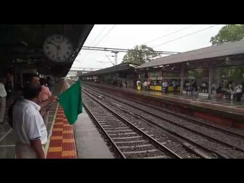 India's fastest train -  Talgo - passing near mumbai
