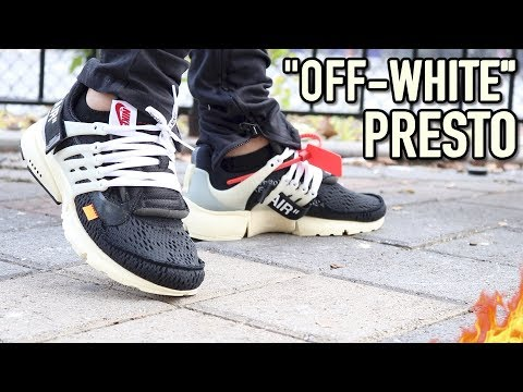 "NIKE AIR PRESTO ""OFF WHITE"" WITH ON-FOOT REVIEW (C/O VIRGIL ABLOH)"