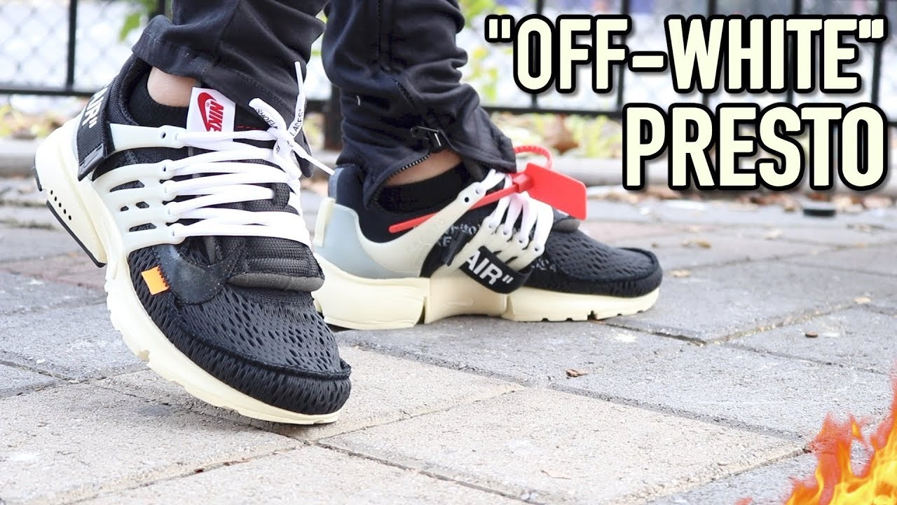 OFF WHITE NIKE AIR PRESTO BLACK ON FOOT REVIEW ET SNEAKERLIV  A SNEAKER LIFE