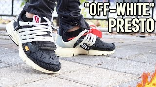 """NIKE AIR PRESTO """"OFF WHITE"""" WITH ON-FOOT REVIEW (C/O VIRGIL ABLOH)"""