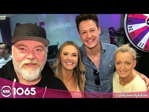 Matt & Chelsie &39;The Bachelor Australia&39; 2019  KIIS1065 Kyle & Jackie O