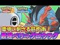 【ポケモンSM】環境に刺さる雨パの使い方を教えて差し上げます【シングルレート】Pokemon Sun And Moon Rating Battle