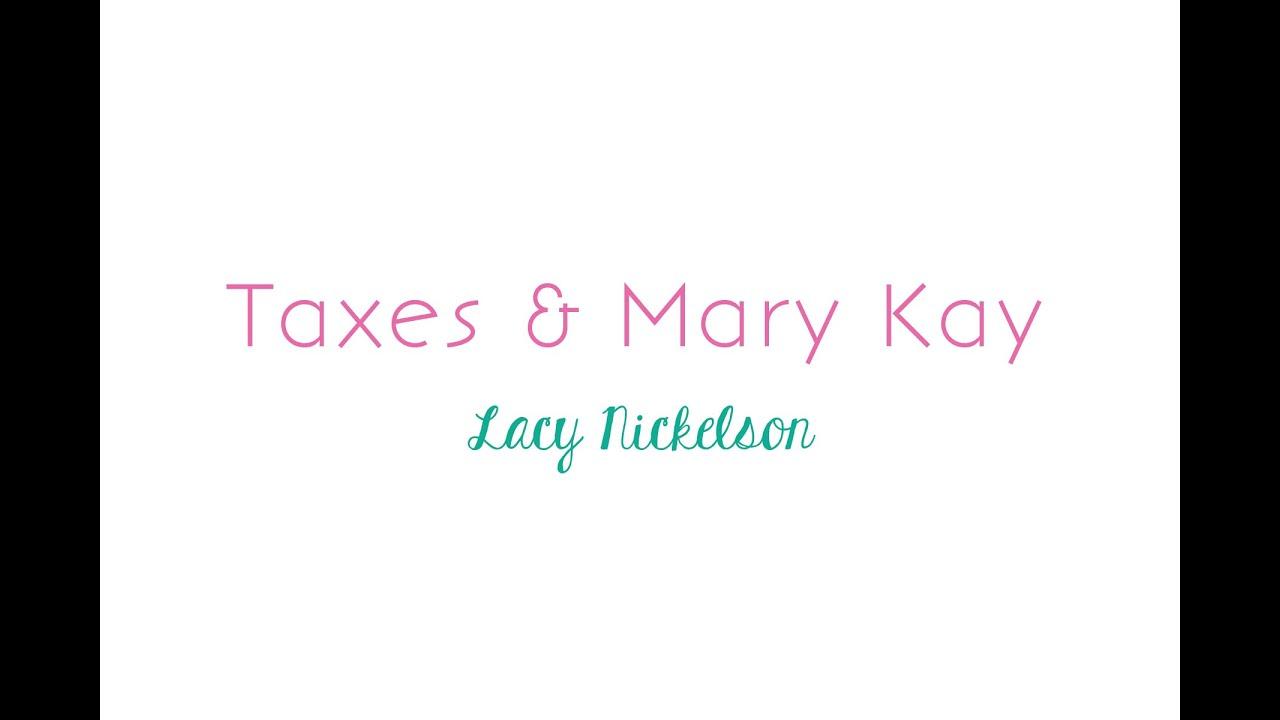 Taxes And Mary Kay