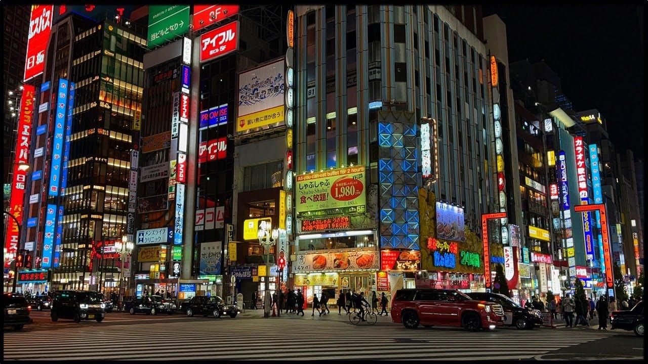 Tokyo Live -  Friday Night in Shinjuku