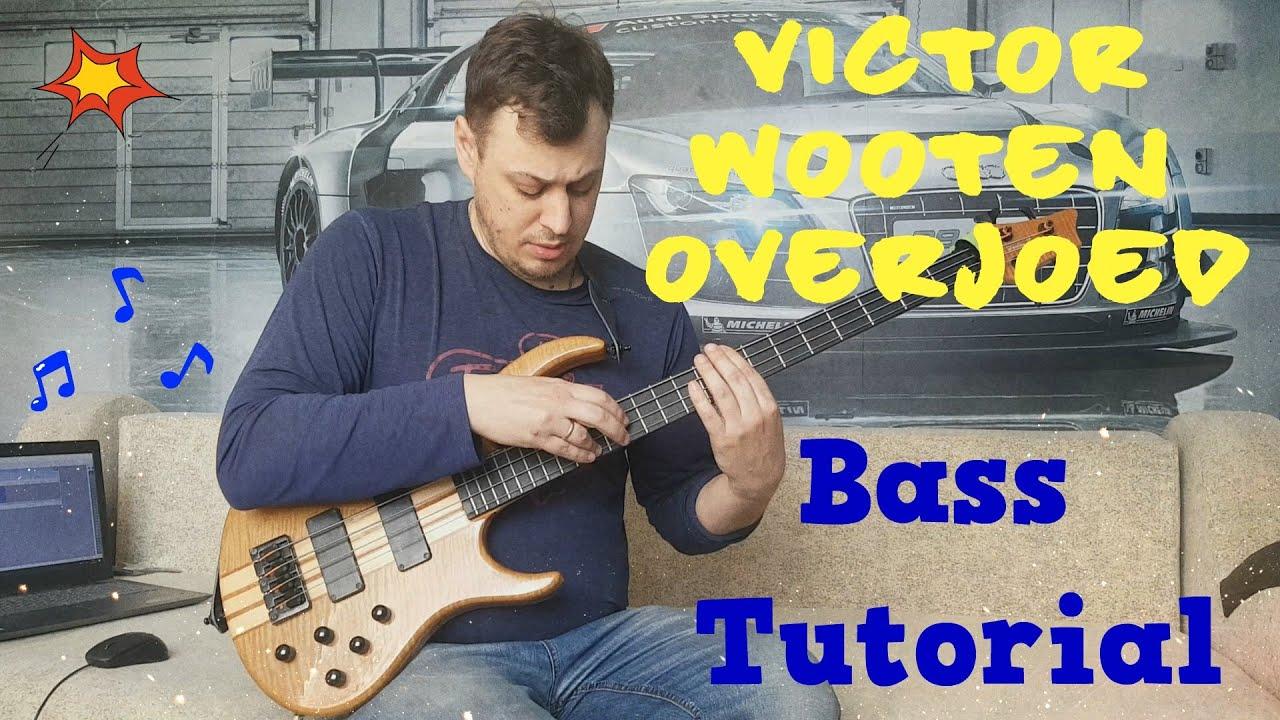 Bass Tutorial: Victor Wooten - Overjoed (Stevie Wonder)