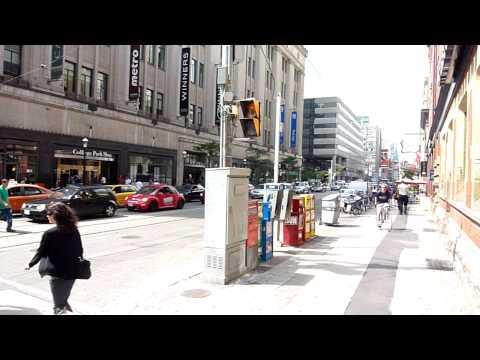View of Toronto's City life: College ST.  - Yonge ST.