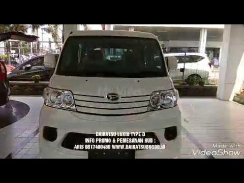 Promo Daihatsu Luxio Type D Warna Putih 2018 - Indonesia