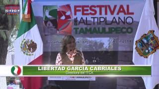 Inauguró Egidio Torre Cantú en Bustamante el Festival del Altiplano Tamaulipeco 2014